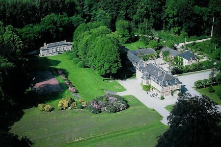 Château de Pallandt -  Chambre du S. Croquison - Genappe - 성