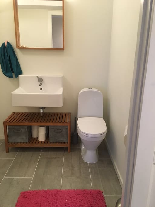 2nd wc - small stairs to small TV room