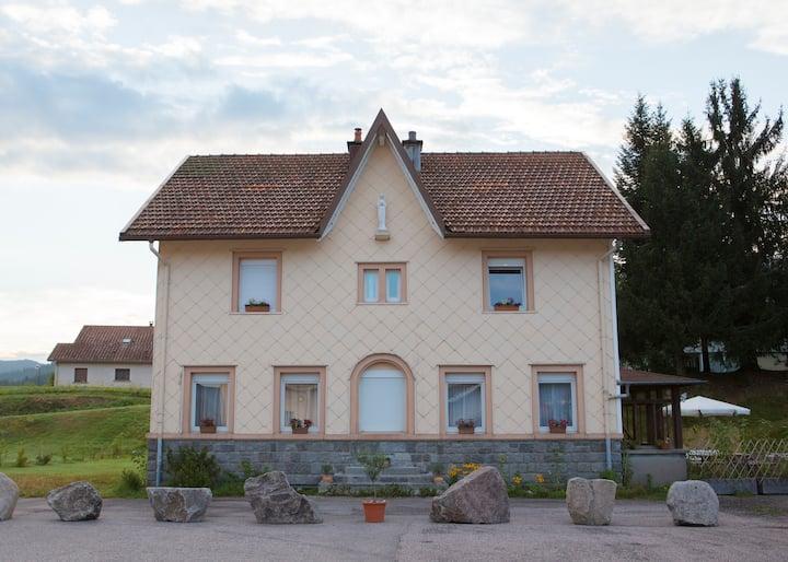 Studio im alten Pfarrhaus