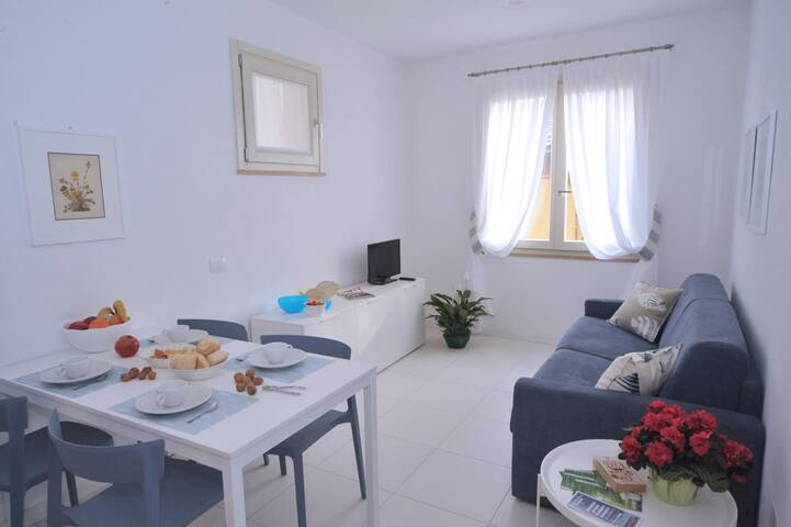 One-bedroom flat, 2 double beds