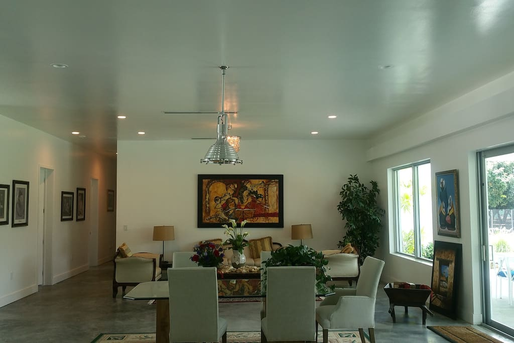 dining and formal lounge