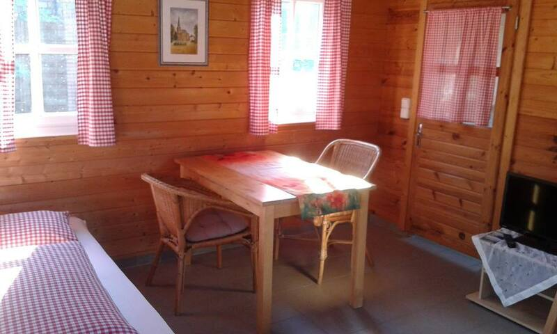 Blockhütte auf dem Moerenhof - Xanten - Cabin