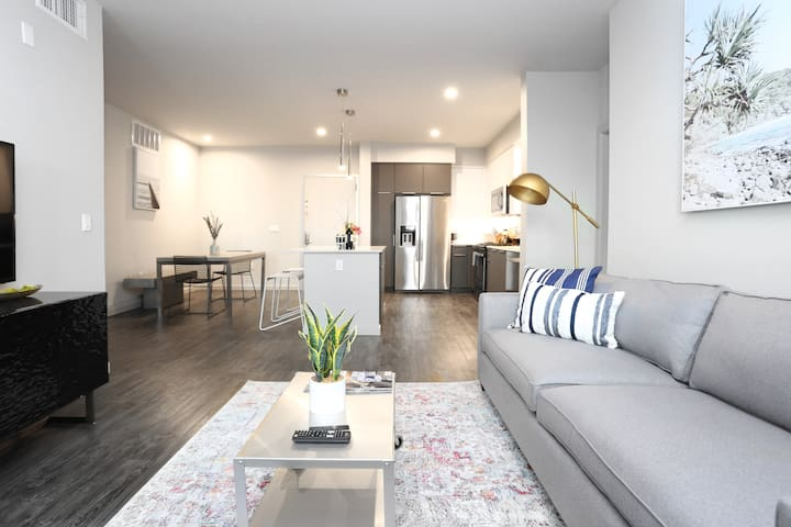 TRIBE ❤️ Deep Cleaned 🧽 2BR @ Great Mall Milpitas