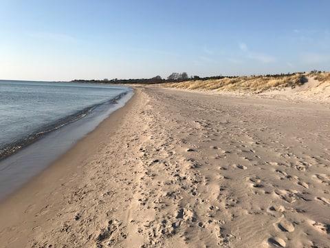 Hus 900m till Tofta strand