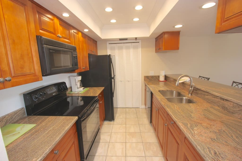 Fully Equipped and Updated Kitchen-Perfect for Meals Large and Small