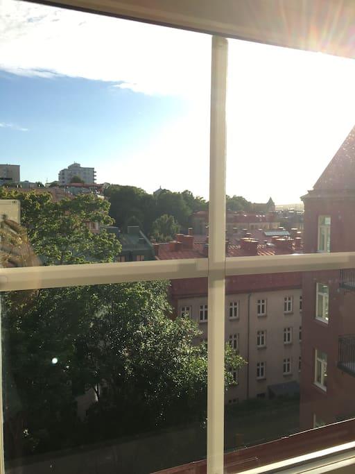 Utsikt från sovrum