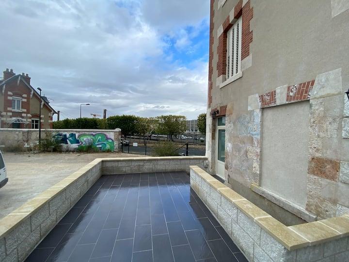 Logement avec terrace
