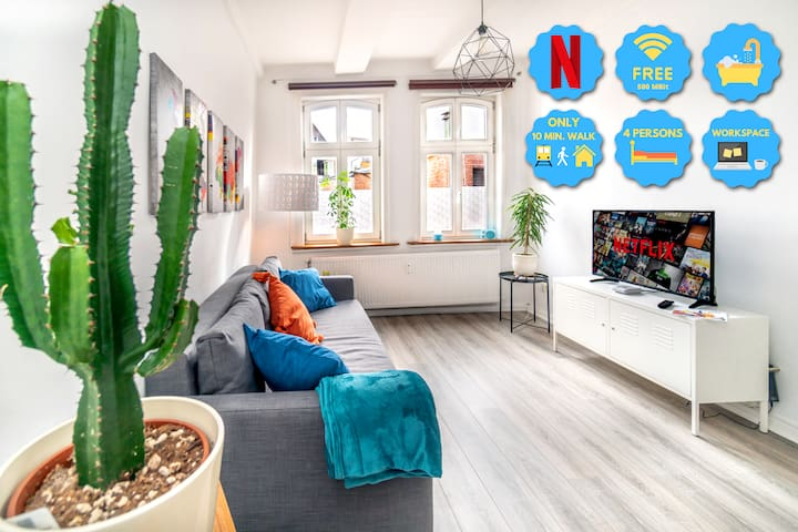 ❤️Historic Aparment in top location WiFi & Netflix