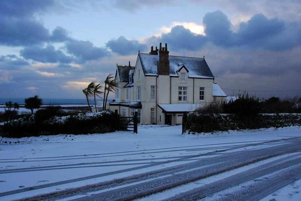 Winter view of Trenowan