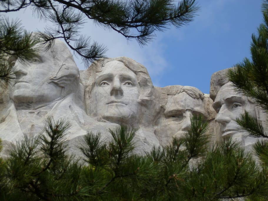 Mt. Rushmore - only 20 min. away.
