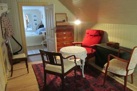 Charmigt dubbelrum i 1800-tals hus. - Ålstorp - House - 1