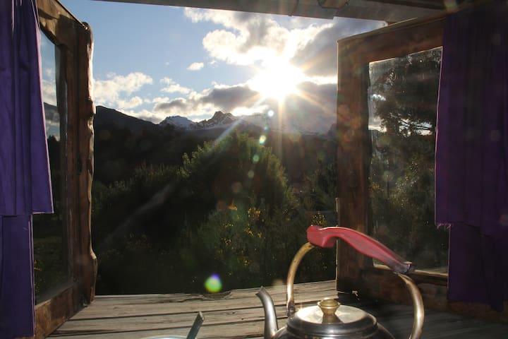 Bariloche CABAÑA EXCELENTE VISTA - San Carlos de Bariloche - Maison