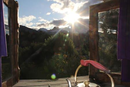Bariloche casa  de Montaña con  EXCELENTE VISTA