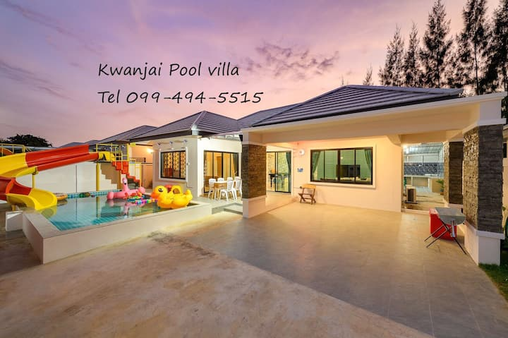 Kwanjai pool villa huahin 3BR+private pool