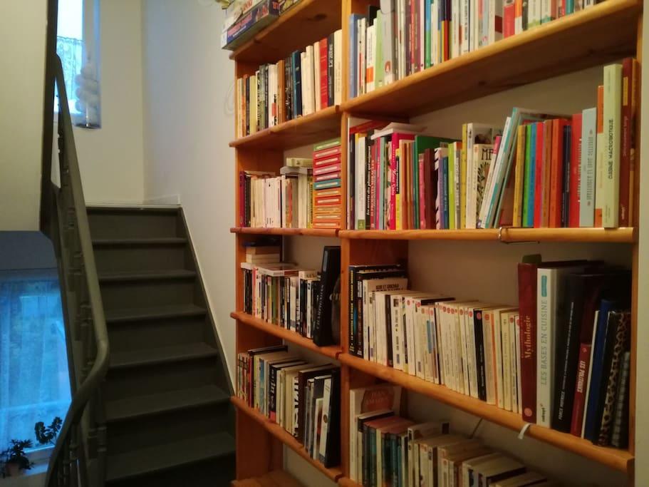 accès 2eme étage