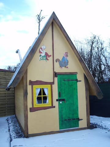 Märchenhaus nähe Legoland - Kammeltal - 오두막