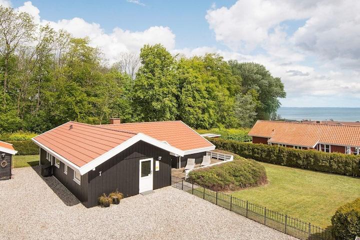 Modern Holiday Home in Sjølund With Indoor Whirlpool