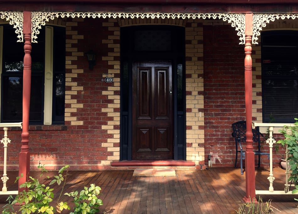 Victorian, double brick. Heritage protected.