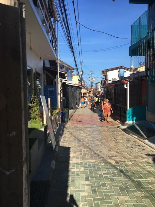Rua principal de Morro