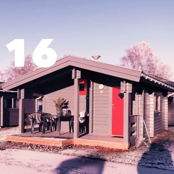 Stuga 16, Prångens Camping i Ulricehamn