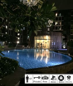 ENTIRE CONDOMINIUM, Free Wifi/Gym&Pool/Parking