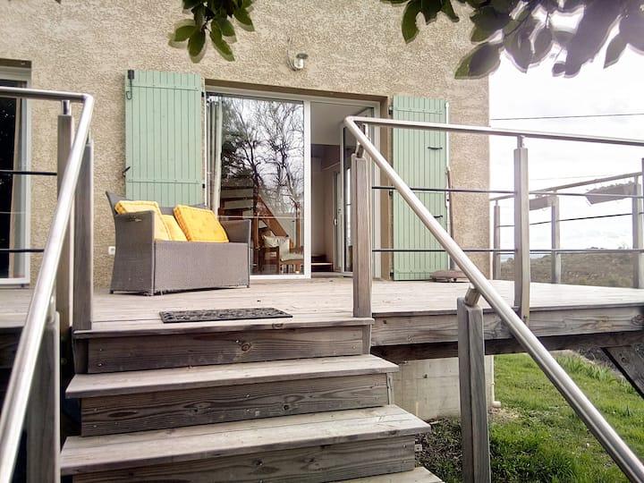 Belle maison très confortable en vallée du Rhône
