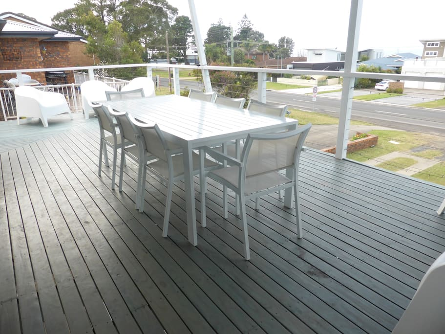 Relax on the deck and enjoy the view