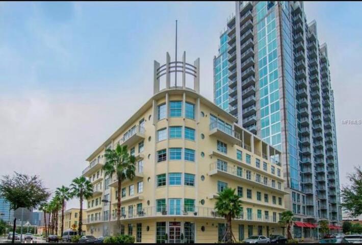 Beautiful modern loft w amazing views - Tampa - Condominio