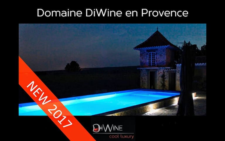 Luxury Villa in Provence with heated swimming pool