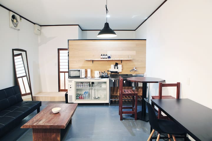 T01 Cool !! Ninja room. Kobe, Haborland 6 min. - Hyogo Ward, Kobe