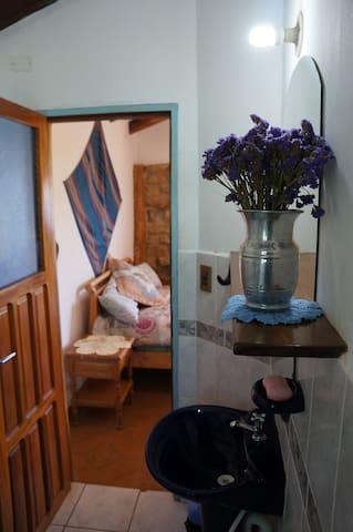 "Room ""Jacha"" in an animal refuge centre"