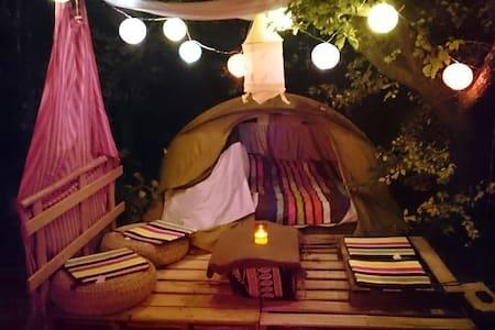 Apt dans un jardin, petite tente ⛺ - Apto.