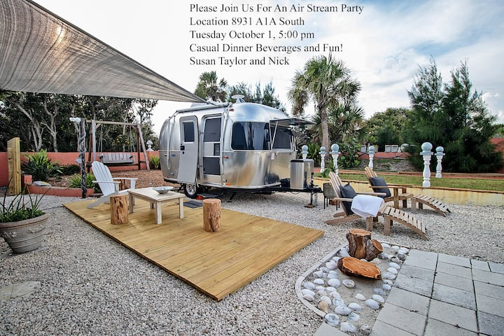 MATANZAS INLET BEAUTY...GLAMPING, AWAY FROM IT ALL
