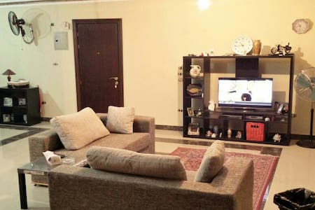 @Madinaty clean,furnished apartment