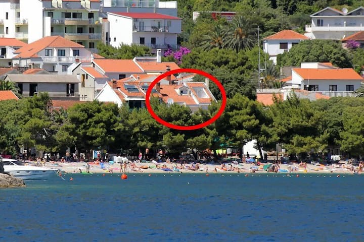Two bedroom apartment near beach Drvenik Donja vala, Makarska (A-6658-a) - Drvenik - Apartemen