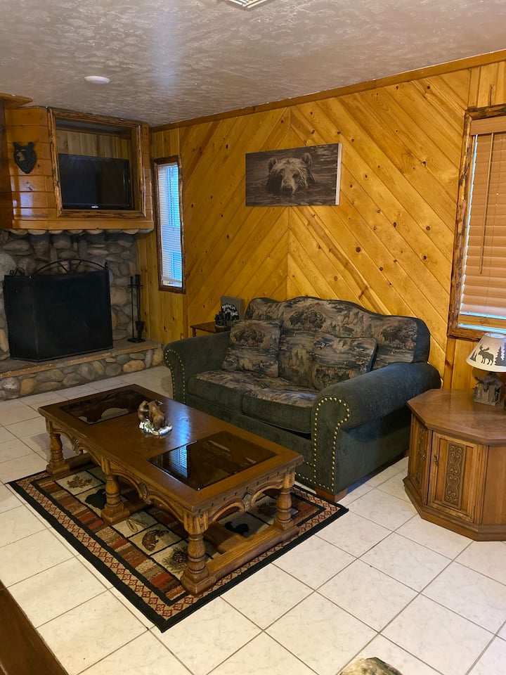 Beautiful Cabin, Near Snowplay and Grocery Stores!