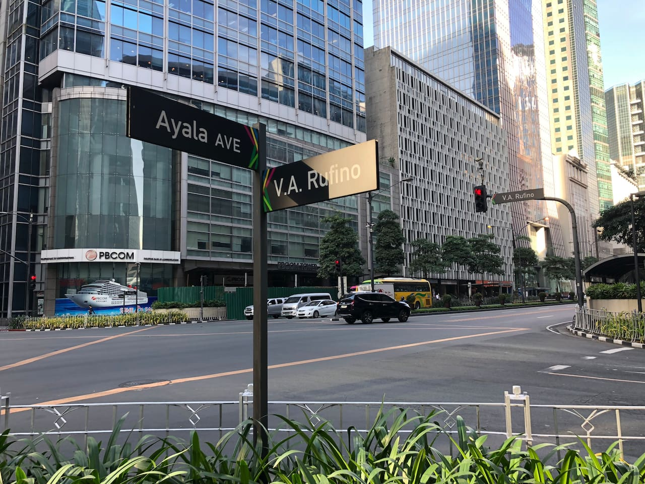 2 minutes walking to Ayala Avenue offices and 5 minutes walking to PBCOM Tower