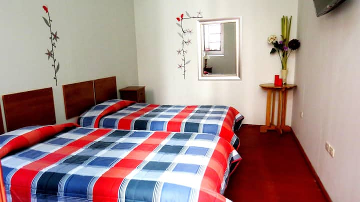 Habitaciones Dobles (2 personas) en el GRAN HOTEL*