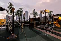 Children's Rooftop Playground