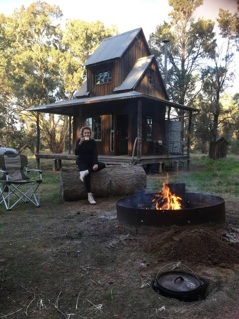 Brooklyn Hill House : off the grid adventure.