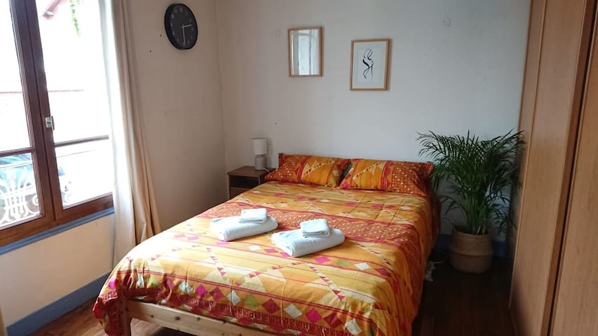 Chambre dans maison avec jardin à 30min de Paris