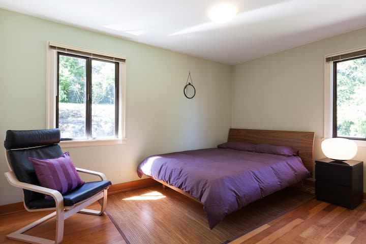 Private Bedroom and Bathroom, Hot Tub, River View