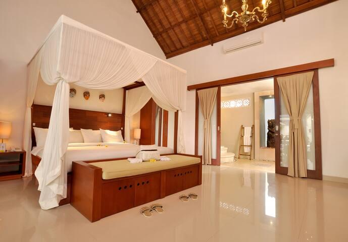 Lovely 1BR pool villa in Lombok Island - West Lombok Regency - Casa de camp