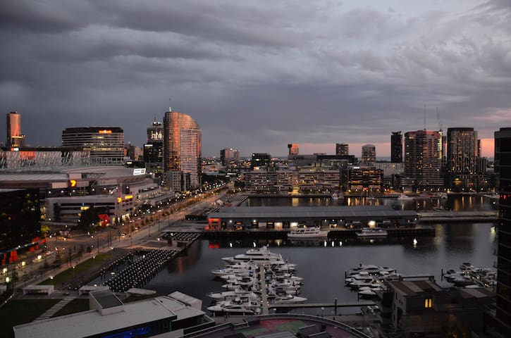 Harbour View Cozy Room Melbourne CBD