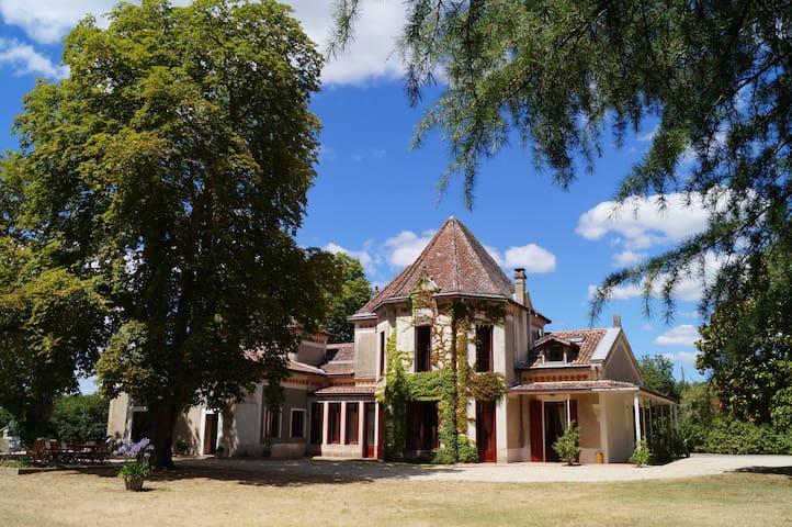 les Luz, maison de famille et chambre d'hôtes - Uzeste