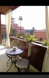 Un bel Appartement a Marrakech .