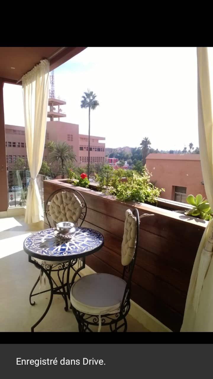 Un bel Appartement a Marrakech .