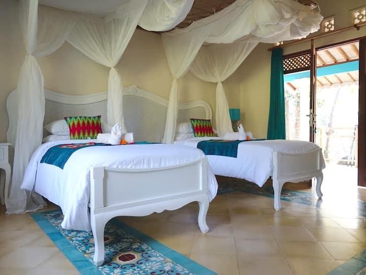 Kunti deluxe room Darmada Eco Resort.