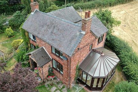 Detached private farmhouse
