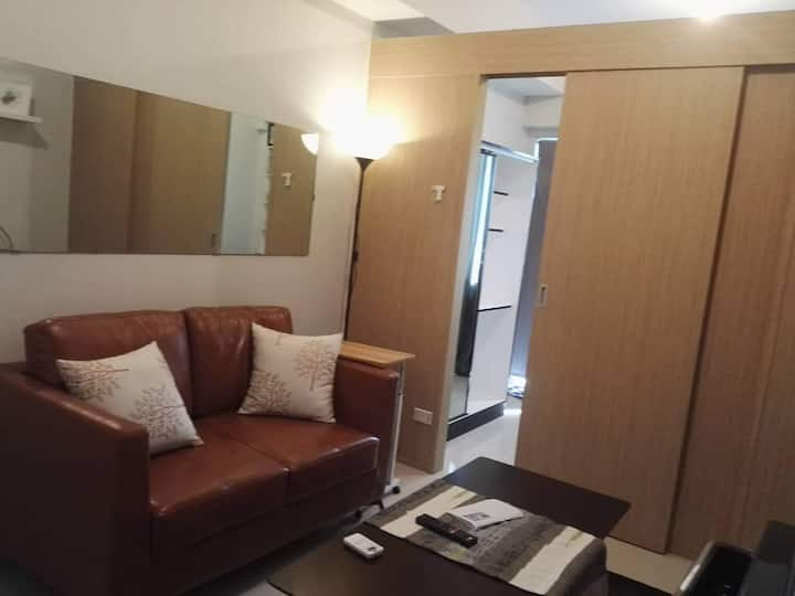 Staycation Unit at Fern Grass  SMDC North Edsa